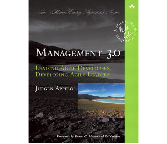 Management 3.0 book from Jurgen Appelo